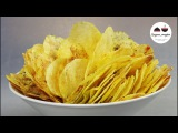 ЧИПСЫ в Микроволновке  4 ВКУСА! Обалденные! Homemade Potato Chips