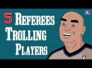 5 NBA Referees Trolling Players