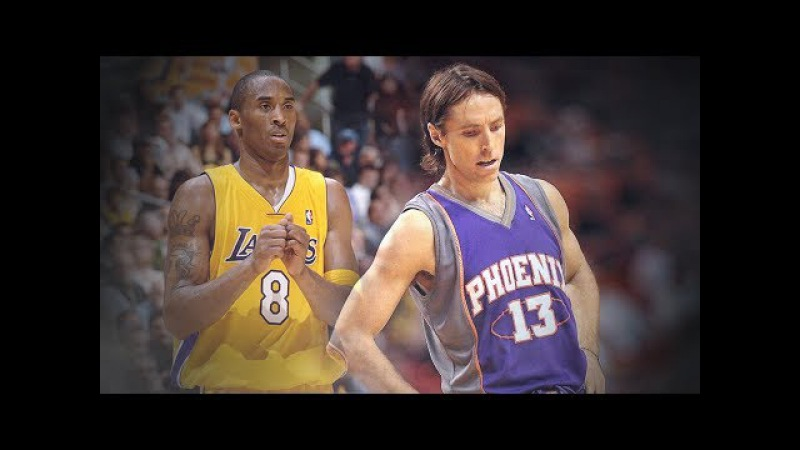 NBA Playoffs. 2006 1st Rd. Game 6. Suns @ Lakers. Bryant 50 Pts. Nash 32 Pts, 13 Ast.