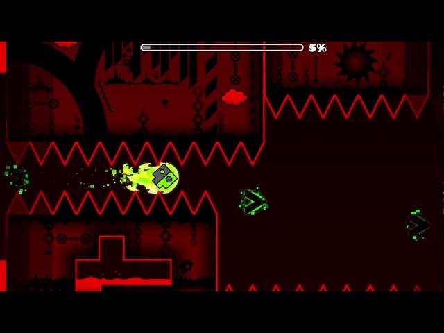 [GAMEPLAY] Aggressive by GreenVine (Insane-Extreme Demon) [NOCLIP]