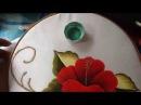 Pintura en tela carpeta tulipanes 2 con cony