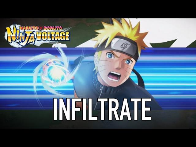 [Обновление] Naruto X Boruto Ninja Voltage - Геймплей   Трейлер
