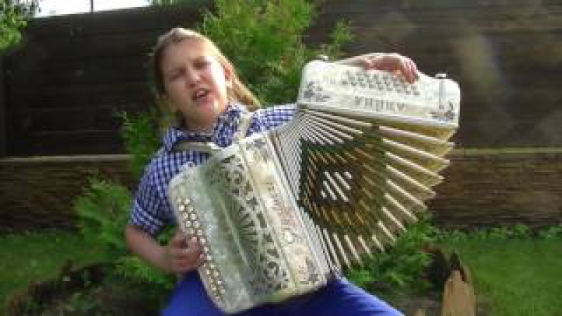 посмотрите как девочка исполнила ЛИЗАВЕТУ на гармони