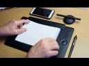 Осваиваем графический планшет Wacom Intuos PRO Paper Edition рисование без ПК, мобильная раб ...