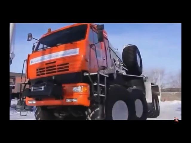 Бездорожье Тест Драйв Offroad Урал Камаз КЗКТ 8х8
