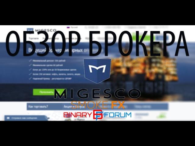 Обзор брокера MIGESCO | 100 К ДЕПОЗИТУ