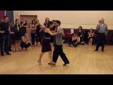 Tango vals - Special workshop with Juan Martin Carrara &amp Stefania Colina - 13.04.2016