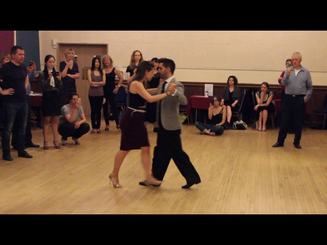 Tango vals - Special workshop with Juan Martin Carrara Stefania Colina - 13.04.2016