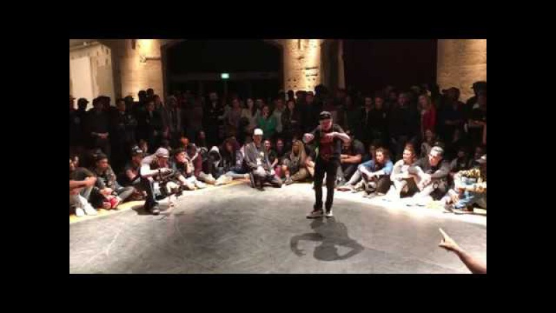 Кирилл Лис / Young Puncher / illest battle 2017 PARIS /KRUMP
