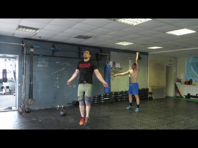 Гиря Ка4. Гиревой кроссфит комплекс. Kettlebell CrossFit Wod