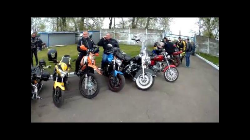 BAC MyVideo. Moto ride to the city Chervonograd. @2017.04.18@
