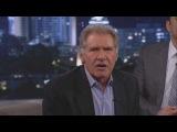 Харрисон Форд отжигает на Late Night Show