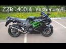 Жжем по полной на Kawasaki ZZR1400 Yoshimura