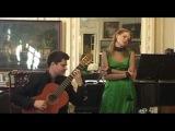 Дарья Росицкая - Вечер французской и испанской музыки.