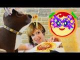 Готовим Вместе с Машей #КапукиКануки 🍝 Спагетти и Томатный соус 🍅 #ПиццаМаргар...