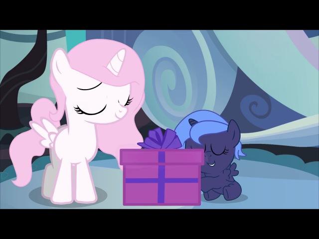 Mlp comic animation Luna's gift