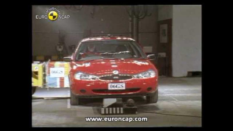 Euro NCAP | Ford Mondeo | 1997 | Crash test