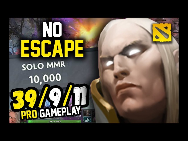 This is How a 10k MMR Plays Invoker , MidOne (Dota 2)
