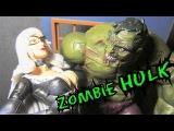 Зомби Халк. Распаковка фигурки и обзор комиксов. Marvel Select Zombie.