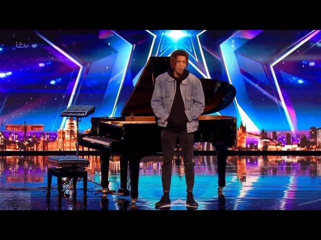 Britain's Got Talent 2017 Tokio Myers Amazing Artist Leaves Judges Speechless Full Audition S11E03