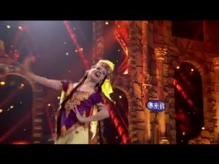 Узбекский танец от уйгурской диаспоры Китая на конкурсе в Корее))