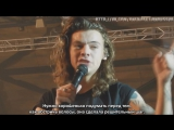 One Direction - Harry Styles talking (Oct 27 - Newcastle, UK) russub