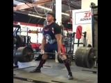 Крис Робинсин, тяга 321 кг на 3 раза