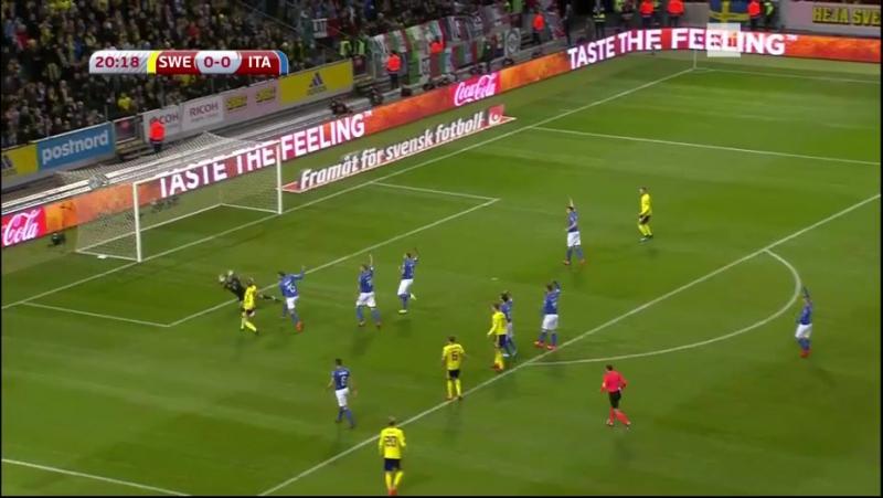 Svezia - Italia (First Halftime)
