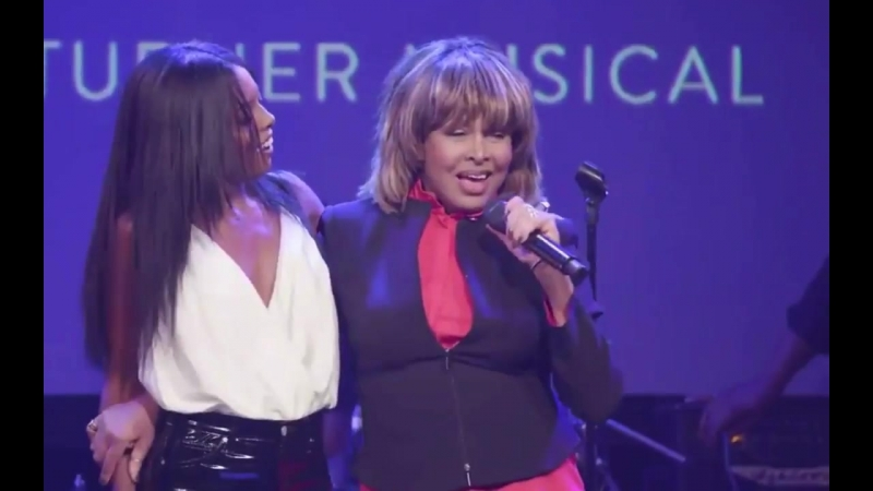 Tina Turner on Adrienne Warren_ What do you think? (2017)