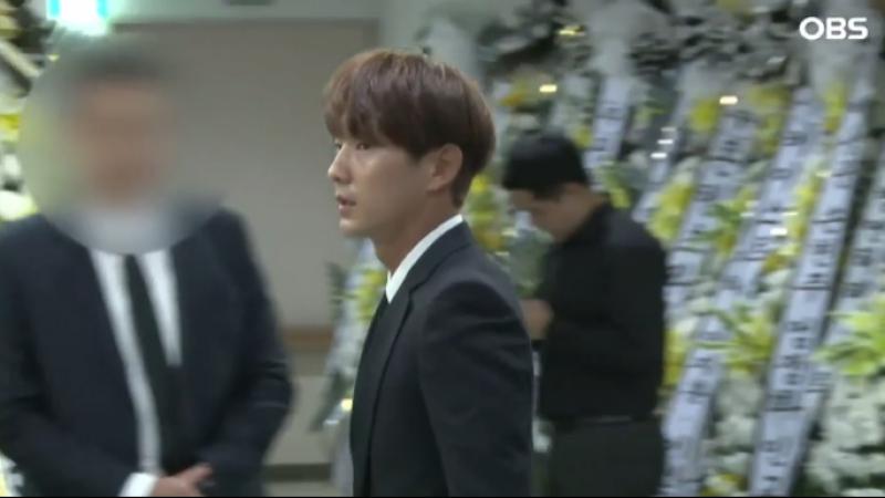 """현장 """"눈물 꾹 참고""""…이준기 故 김주혁 빈소 조문"""