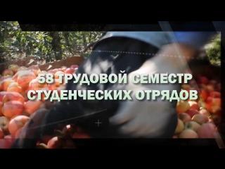 Итоги третьего трудового семестра 2017 года Российских Студенческих Отрядов