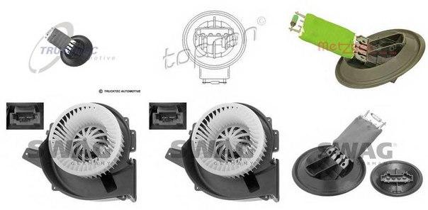 Вентилятор салона для AUDI A1 Sportback (8XA, 8XK)