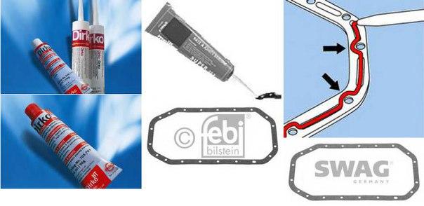 Прокладка, крышка головки цилиндра; Прокладка, маслянный поддон для AUDI A2 (8Z0)
