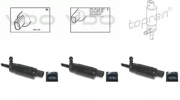 Система очистки фар для AUDI A2 (8Z0)
