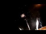 Алатырь 30.01.17 Огненная надпись + салют 500 залпов