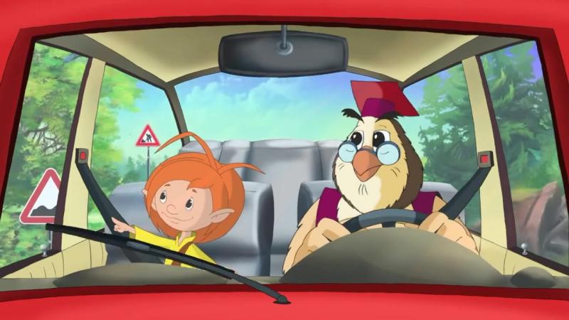 Азбука безопасности на дорогеДорога и дорожные знаки (Уроки тетушки Совы) серия 4 [720]