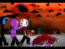 Безглазый джек отомстил Вурхизу Джейсону с фиолетовым парнем!
