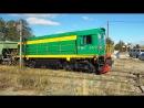 ТГМ6А 2472 трудится на подъездных путях Камышинского стеклотарного завода 3 10 2017