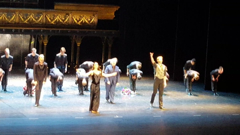 Балет Анна Каренина Б. Эйфмана на сцене Большого театра. Поклоны 30.07.2017