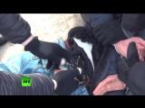 ФСБ опубликовала видео задержания одного из организаторов теракта в метро Петербурга