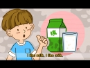 Do you like milk Yes, I do. (Liking) - Exciting Rap for Kids - English song with lyrics