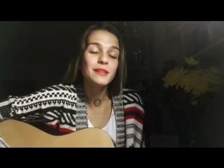 Oxxxymiron - Переплетено (cover) Девушка классно поет популярную песню ♫