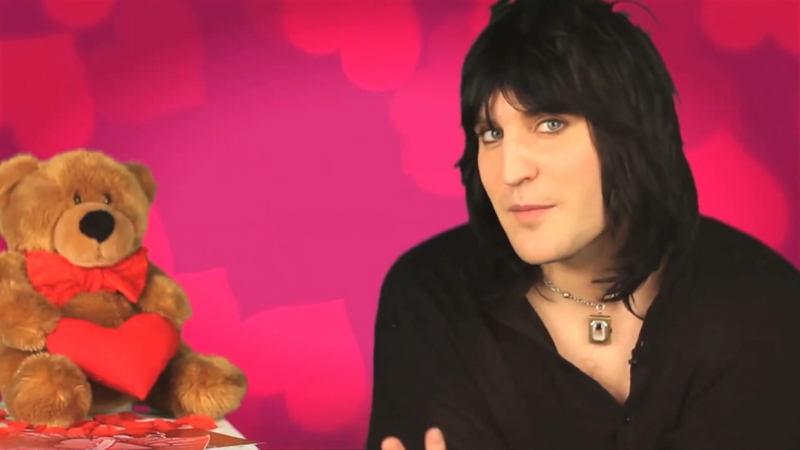 Noel Fielding on T4s Celebrity Valentines Love in 2012