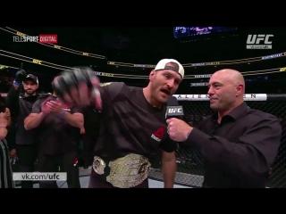 UFC 211: Интервью Стипе Миочича [RUS]