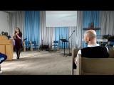 воскресное служение: прославление, псалом, Сценка:) студенты!:)