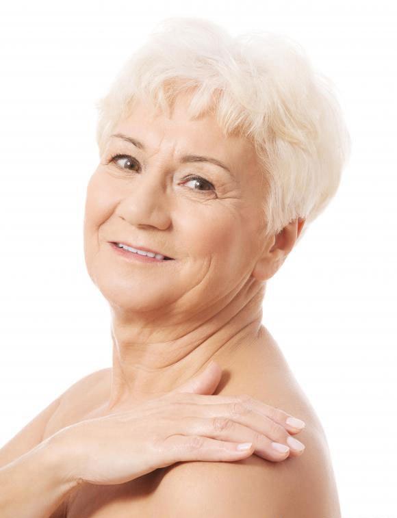 Стареющая кожа истощает уровень эластина и коллагена.