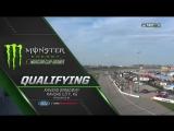 2017 NASCAR Monster Cup - Round 32 - Kansas - Квалификация