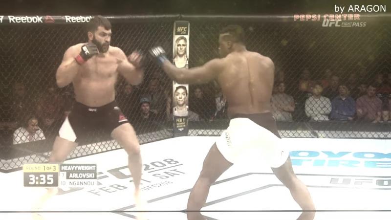 MMA Vine 74( by ARAGON )-Орловский vs Нганноу