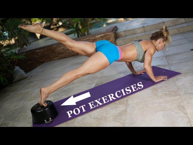POT EXERCISES - 5 Minute Fat Burn 128