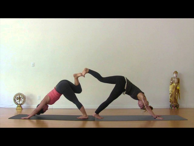 Partner Yoga Class: A 15 minute-practice towards trust, intimacy and connection